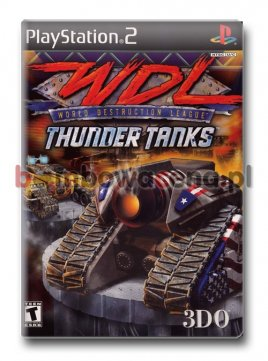 World Destruction League: Thunder Tanks [PS2] NTSC USA
